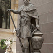 Roman Citizen In Louvre Art Print