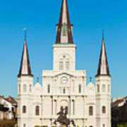 Saint Louis Cathedral Art Print