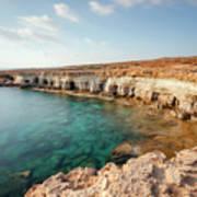 Sea Caves Ayia Napa - Cyprus Art Print