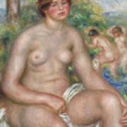 Seated Bather Art Print