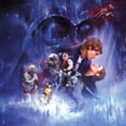 Star Wars Episode V The Empire Strikes Back 1980 Digital Art By Geek N Rock