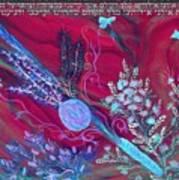 Sukkot- Prayer In The Sukkah Art Print