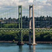 Tacoma Narrows Bridge Art Print