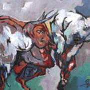 The Bulls Art Print