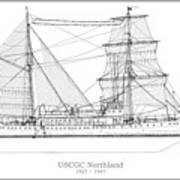 U.s. Coast Guard Cutter Northland Art Print