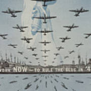 World War II Advertisement Art Print