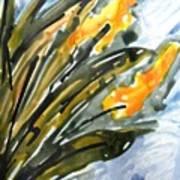 Divine Flowers Art Print