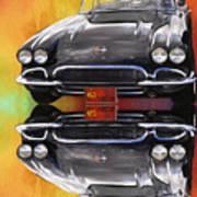 62 Corvette Art Print