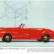 66 Oldsmobile Art Print