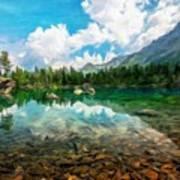 Landscape Pictures Nature Art Print