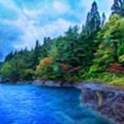 Nature Landscape Light Art Print