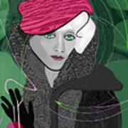 692  Decembers Lady A Art Print