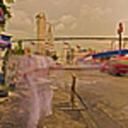 6x1 Philippines Number 260 Hospital Panorama Art Print