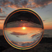 7-26-16--4577 Don't Drop The Crystal Ball, Crystal Ball Photography Art Print