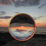 7-26-16--4581 Don't Drop The Crystal Ball, Crystal Ball Photography Art Print