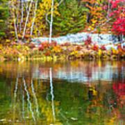 Autumn Season In Killarney Art Print