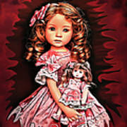 Baby Doll Collection Art Print