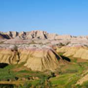 Badlands National Park South Dakota Art Print