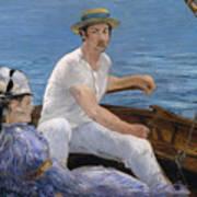Boating Art Print