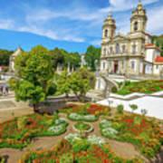 Braga Sanctuary Portugal Art Print