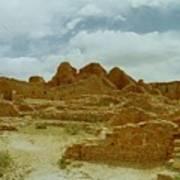 Chaco Canyon Ruins 7 Art Print