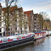 Channels Of Amsterdam Art Print