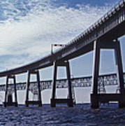 Chesapeake Bay Bridge Art Print