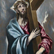 Christ Carrying The Cross Art Print