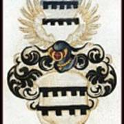 Coat Of Arms. Art Print