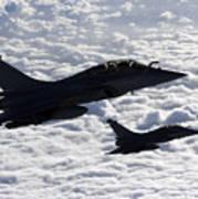 Dassault Rafale B Of The French Air Art Print