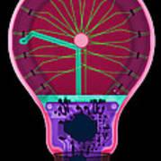 Energy Efficient Led Light, X-ray Art Print