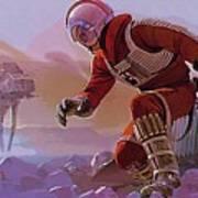 Episode 1 Star Wars Art Art Print