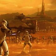 Episode 2 Star Wars Art Art Print