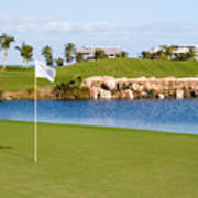 Florida Gold Coast Resort Golf Course Art Print by ELITE IMAGE photography By Chad McDermott