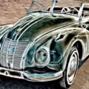 Former East Germany I F A Car Art Print