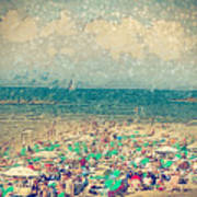 Gordon Beach, Tel Aviv, Israel Art Print