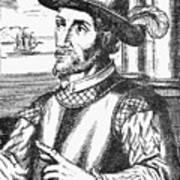 Juan Ponce De Leon Art Print