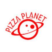 Pizza Planet Digital Art By Kale Aya