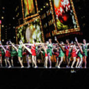 Radio City Rockettes New York City Art Print