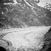 Sawyer Glacier In Tracy Arm Alaska Fjords Near Ketchikan Alaska Art Print