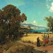 Sicilian Scene Art Print