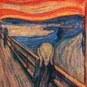 The Scream Ver 1893 Edvard Munch Art Print