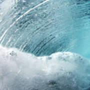Underwater Wave Art Print
