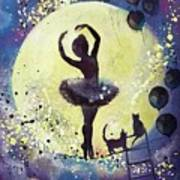 Walk To The Moon Art Print