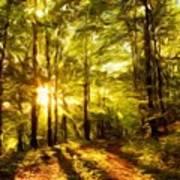 Nature Landscape Paintings Art Print