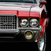 72 Olds Cutlass Art Print