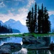 Nature Oil Paintings Landscapes Art Print