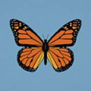 74- Monarch Butterfly Art Print