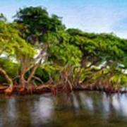Nature Original Landscape Painting Art Print