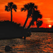 75 Island Sunset Art Print